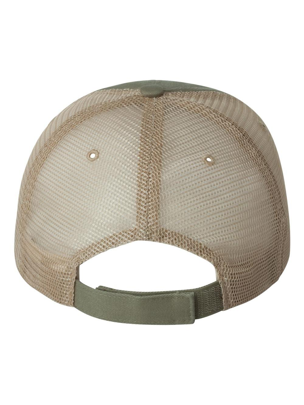 Mega Cap Organic Cotton//Mesh Cap 6887