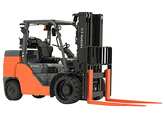 8,000 lb Cushion Tire Forklift