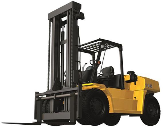 40,000 lb Pneumatic Tire Forklift