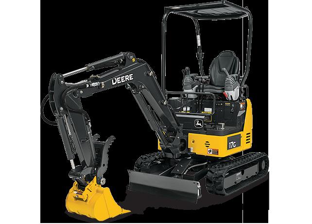 2,000 lb Mini Excavator