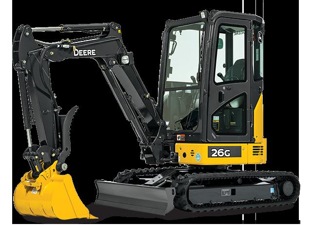 6,000 lb Mini Excavator