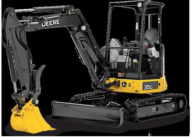 7,500 lb Mini Excavator
