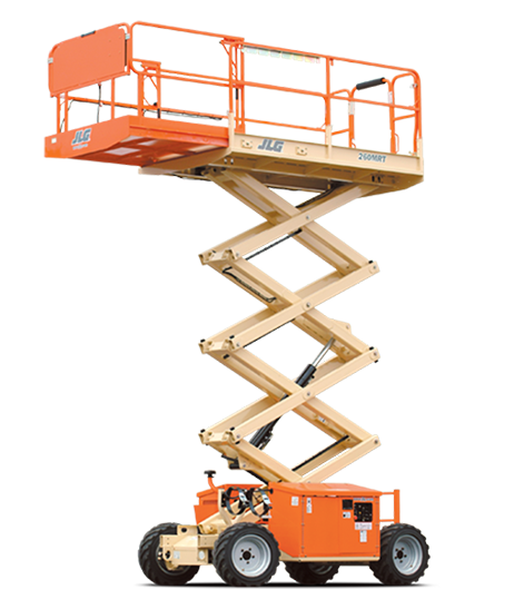 26 ft Rough Terrain Scissor Lift