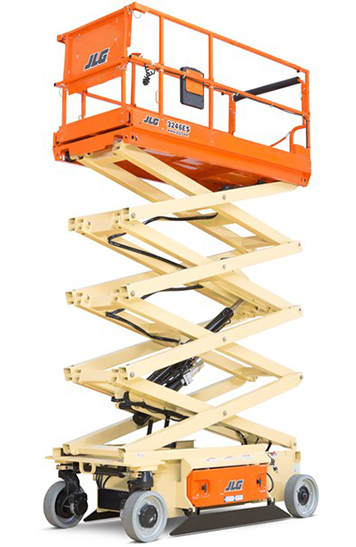 32 ft Electric Wide Scissor Lift