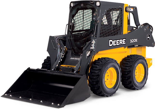 2,000 lb Skid Steer Track Loader