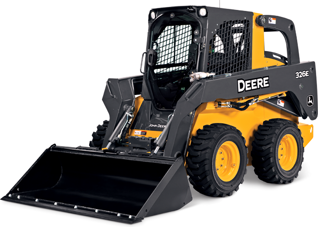 2,500 lb Skid Steer Track Loader