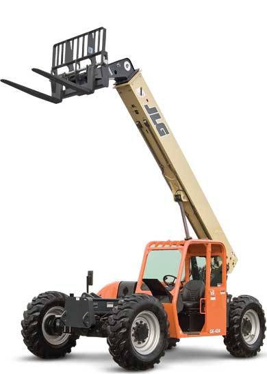 6,000 lb 42 ft Extreach Forklift