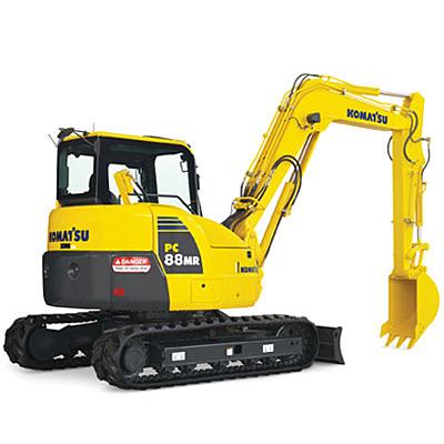 40,000 - 45,000 lb Crawler Excavator