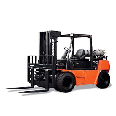 15,000 lb Cushion Tire Forklift