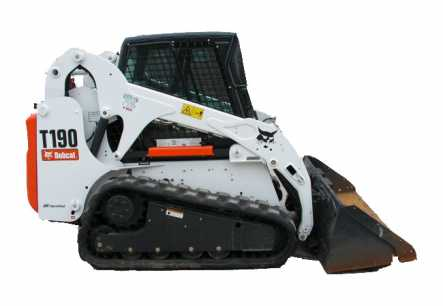 1,900 lb Skid Steer Track Loader