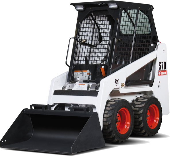 700 lb 4WD Skid Steer Wheel Loader
