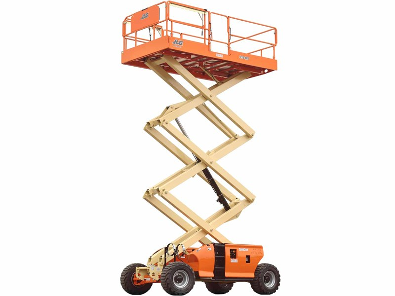 33 ft 4WD Rough Terrain Scissor Lift