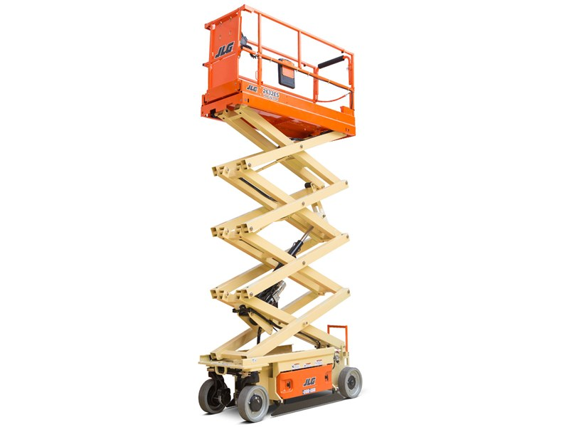 26 ft Narrow Electric Scissor Lift