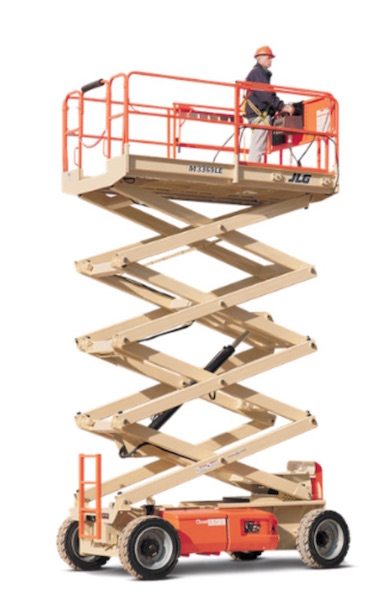 33 ft 4x4 Med Terrain Scissor Lift