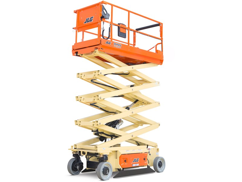 26 ft Electric Wide Scissor Lift