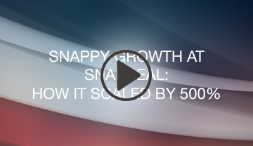 Snappy Growth at Snapdeal: How It Scaled by 500% webinar