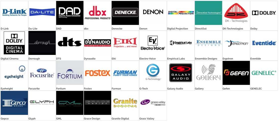 Brands D-G