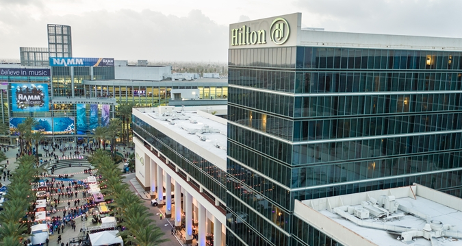Anaheim Hilton Hotel at NAMM