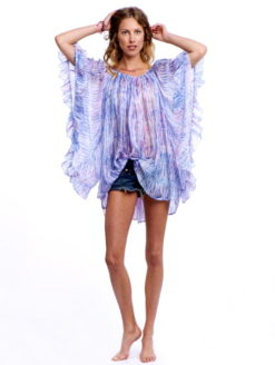 Pastel Ruffle Silk Dress - Lotta Stensson
