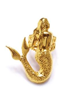 Mordekai Gold Mermaid Ring