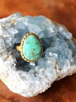 Manresa Turquoise Ring - Sage Lifestyle