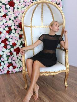 Brigitte Bardot Little Black Dress - amla