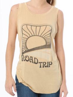 Brokedown - Roadtrip Tank - Mustard