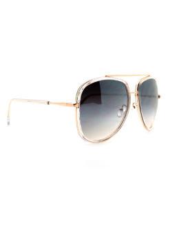 Quay - Needing Fame Sunglasses - Clear Brown