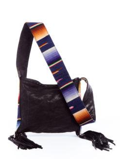 Serape Strap Leather Bag
