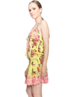 Salinas Dress - Yellow