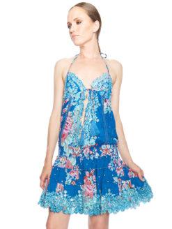 Las Noches Ibiza Salinas Dress - Blue