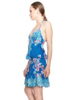 Salinas Dress- Blue