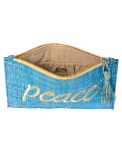 Kayu Blue Peace Pouch