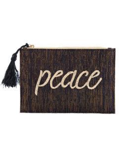 Kayu Peace Black Pouch