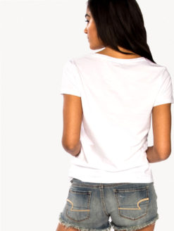 CHRLDR - Love Junkie T-Shirt - White - Amanda Mills LA
