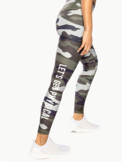 CHRLDR -Let's Get Physical Camo Leggings-amla