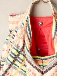 Women's Natural Ibiza Hobo Bag -inside look