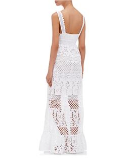 Temptation Positano White Paola Dress - amanda mills la