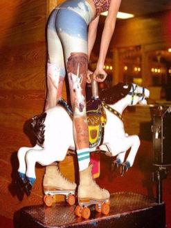 Unicorn Wrangler Hot Pant