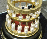 Chinese abacus made of pearls