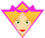 Princess Trainee Karate Black Belt Super Hero Badge