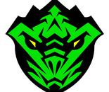 Emerald Dragon Karate Black Belt Super Hero Badge