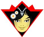 The Princess of Daisies Karate Black Belt Super Hero Badge