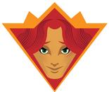 The Princess of Tulips Karate Black Belt Super Hero Badge