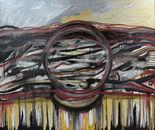 """DREAMCATCHER""  Oil on Canvas  6' x 4'  2016"