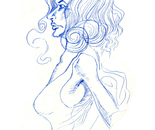 Blue Sketch #1
