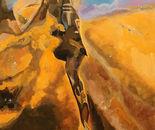 """Eagle Nebula   3'4"""" x 6'5""""   Acrylic on Canvas"""