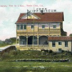 The Free Cliff Museum circa 1909. Photo courtesy of Frank Perry.