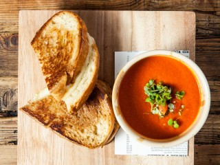 Tomato Soup & Grilled Cheese 1_Marie Buck Photography