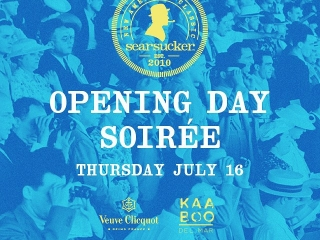 A day at the races ends at Searsucker, especially on Opening Day. Find out more about Searsucker Del Mar's Opening Day Soirée! #SearsuckerSoireeClick on the link in our bio to purchase tickets!